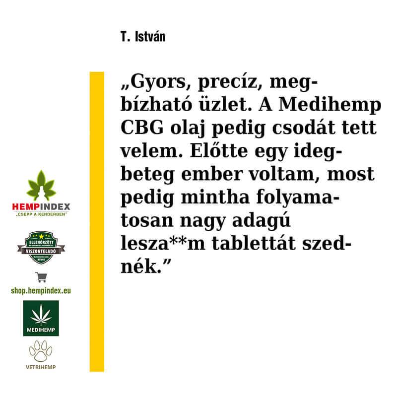 István CBG olajról mondja el véleményét!