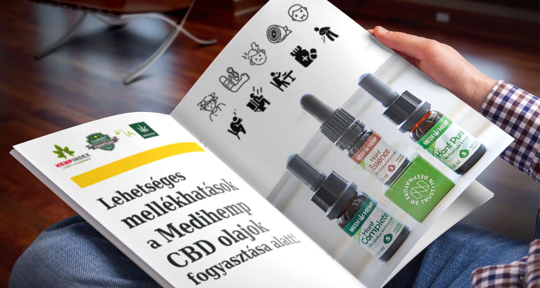 Lehetséges mellékhatások a Medihemp CBD olajok fogyasztása alatt!