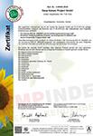 Medihemp Austria Bio Garantie Zertifikat